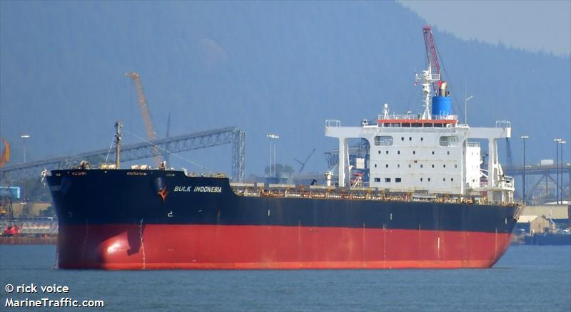 Vessel details for: BULK INDONESIA (Bulk Carrier) - IMO