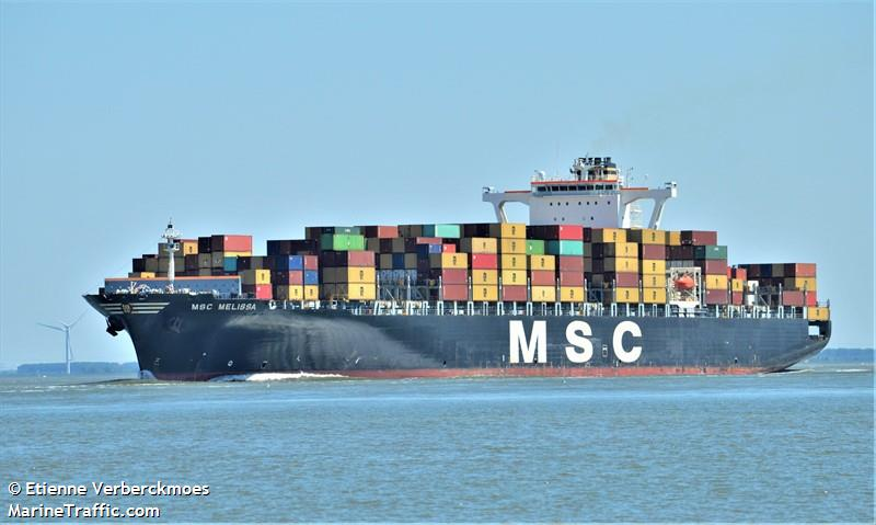Vessel details for: MSC MELISSA (Container Ship) - IMO 9226918, MMSI