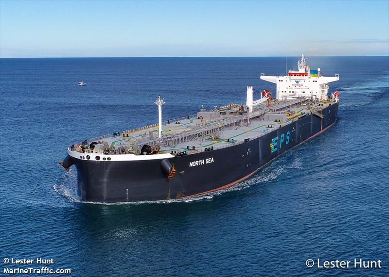 Vessel details for: NORTH SEA (Crude Oil Tanker) - IMO 9760495, MMSI