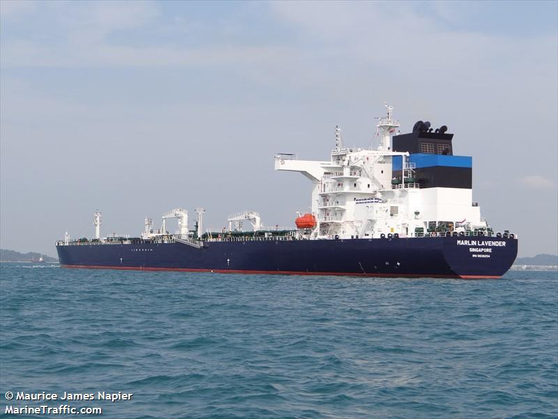 Vessel details for: MARLIN LAVENDER (Crude Oil Tanker) - IMO
