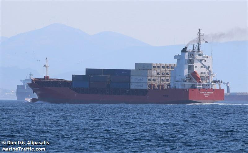 Vessel details for: ATLANTIC BRIDGE (General Cargo) - IMO 9351115