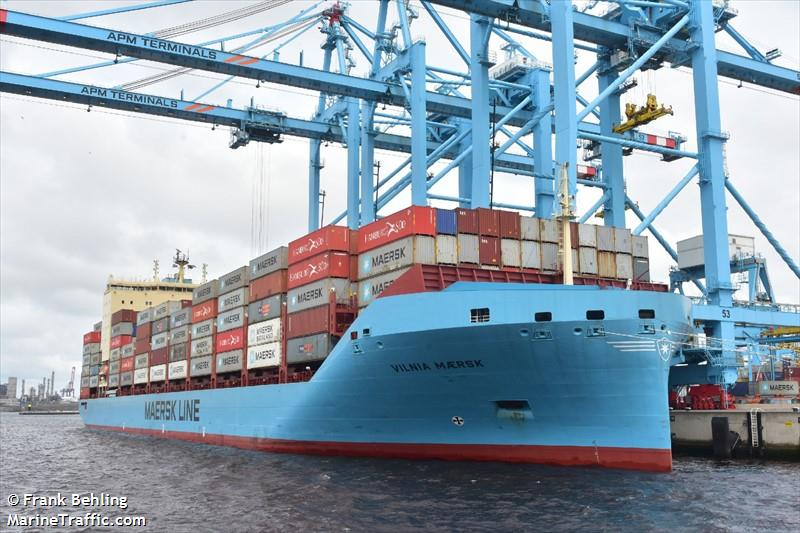 VILNIA MAERSK, Container ship, IMO 9778533 | Vessel details