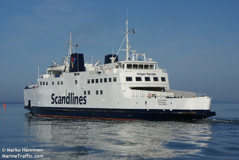 Vessel details for: HOLGER DANSKE (Ro-Ro/Passenger Ship