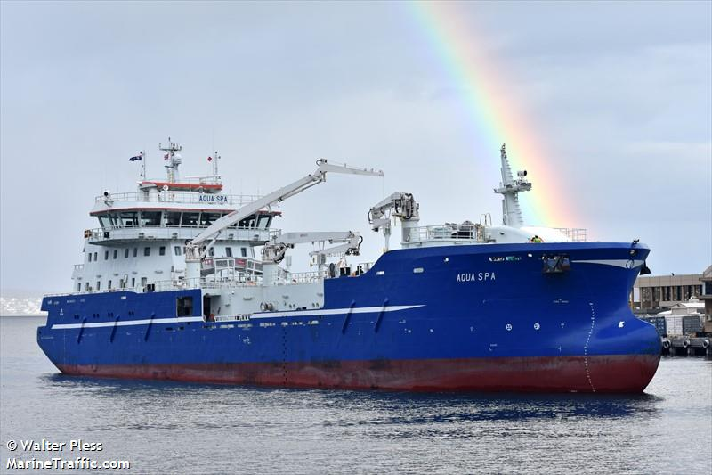 Vessel Details For Aqua Spa Fish Carrier Imo 9839337 Mmsi
