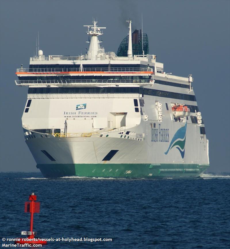 Vessel details for: ULYSSES (Ro-Ro/Passenger Ship) - IMO ...