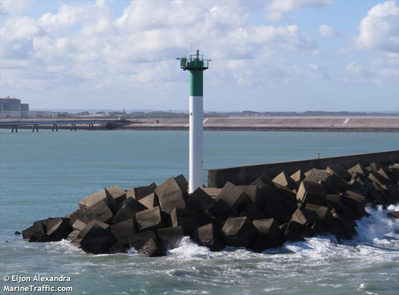 Dunkerque Ouest Jetee Du Dyck