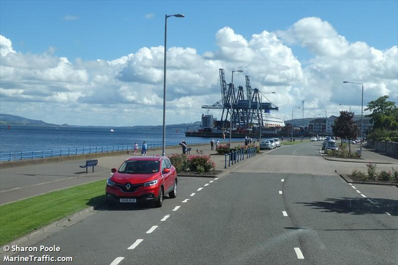 Clydeport Container Terminal Range Front