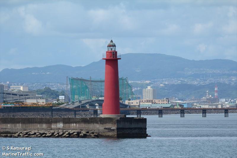 Kagoshima Ko North Breakwater