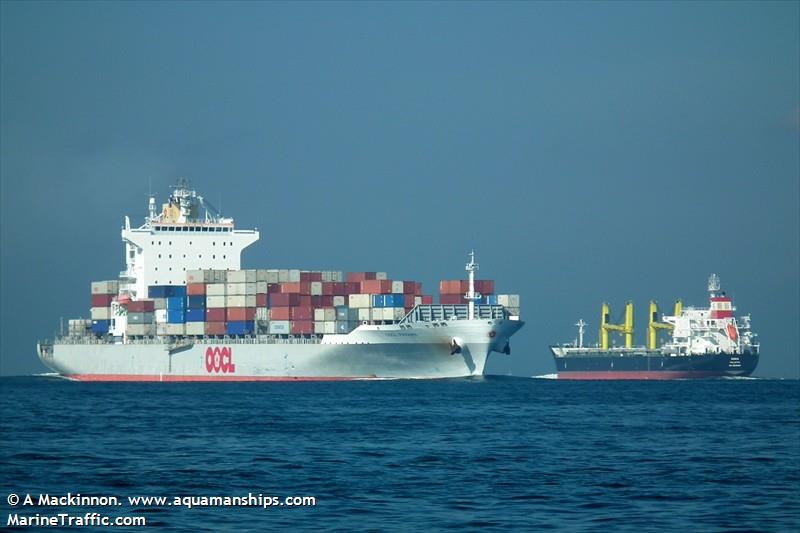 Vessel details for: OOCL PANAMA (Container Ship) - IMO 9355769, MMSI 477056600, Call ...