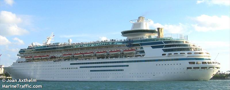 Majesty of the seas passengers ship current position and details
