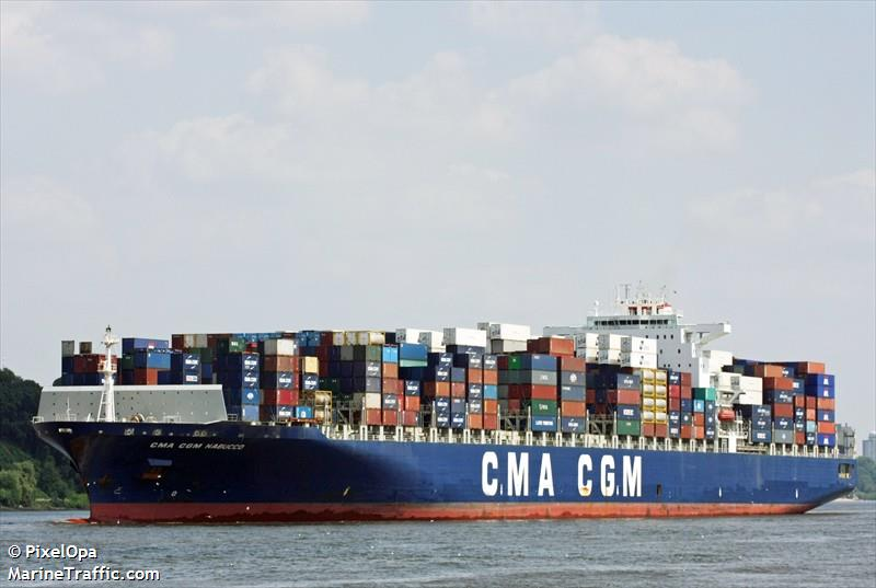 The CMA CGM Nabucco