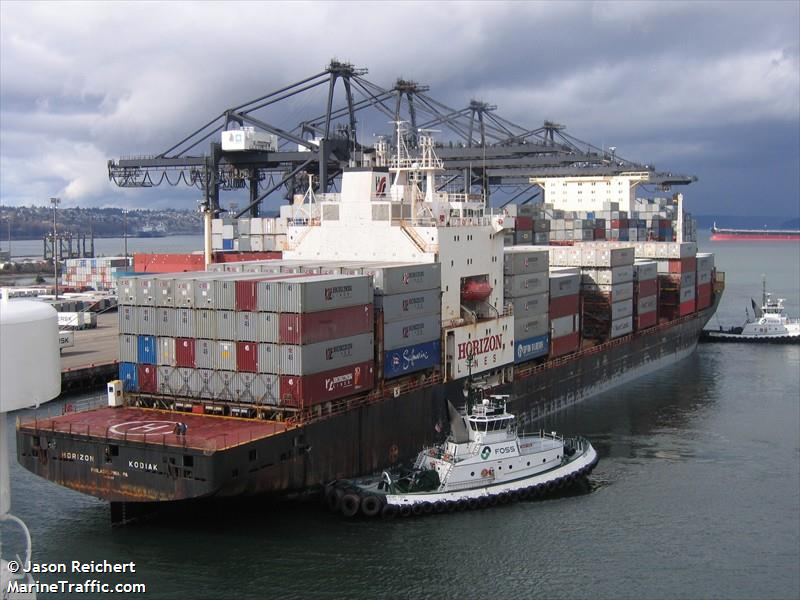 Matson kodiak container ship current position and details imo 8419166 mmsi 366793000 - Matson container homes ...
