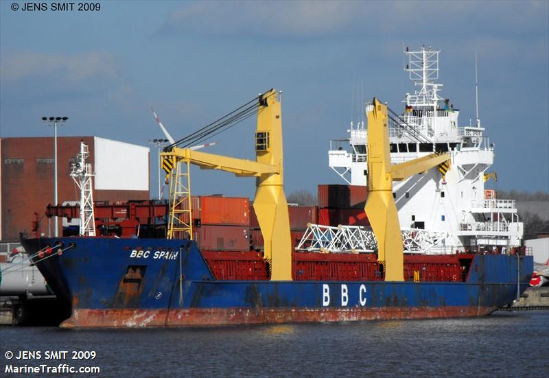 Vessel details for: S.KUZNETSOV (General Cargo) - IMO 9210359, MMSI 273336180, Call Sign UBLK7 ...