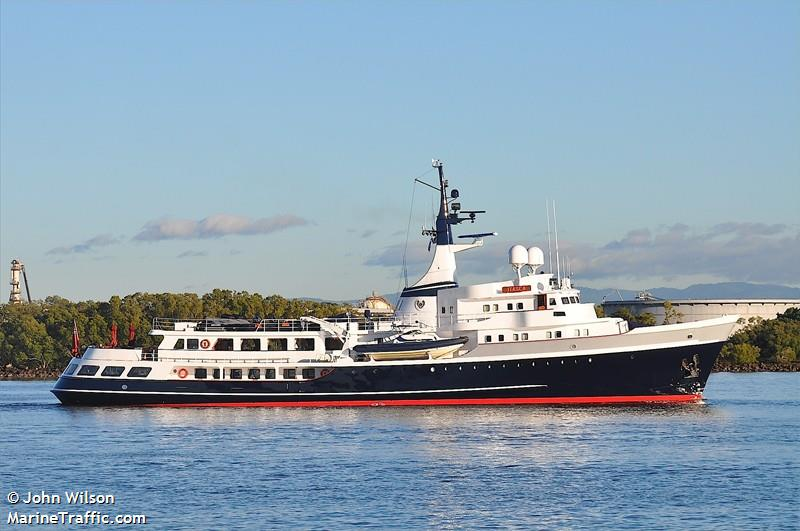Vessel details for: ITASCA (Yacht) - IMO 1002055, MMSI ...