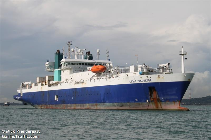 Cable Companies In My Area >> Vessel details for: CABLE INNOVATOR (Cable Layer) - IMO 9101132, MMSI 233933000, Call Sign MVEP4 ...