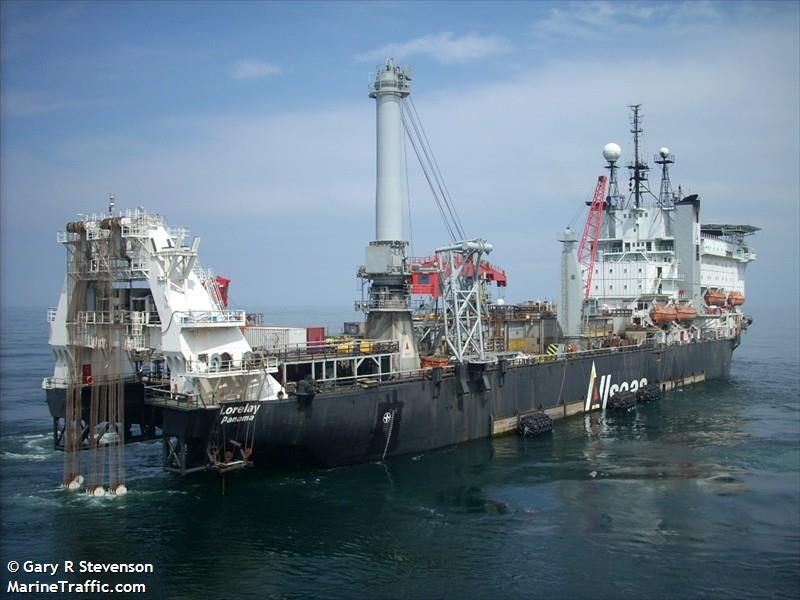 Vessel details for: LORELAY (Pipe Layer) - IMO 7349807 ...