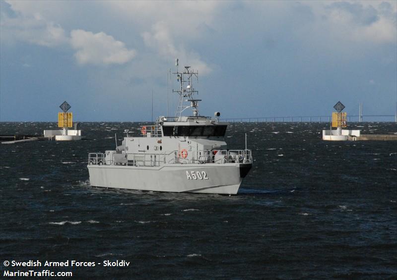 A502 HMS ANTARES