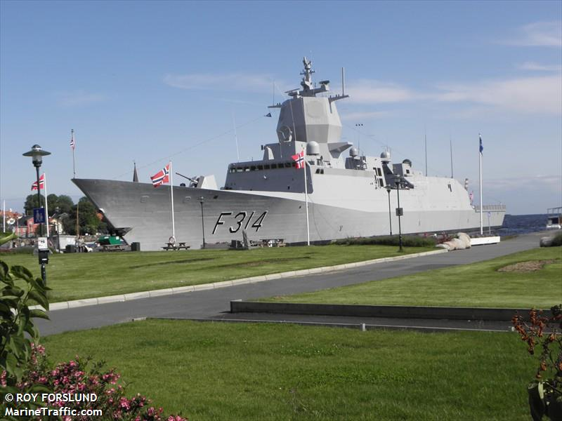 NATO WARSHIP F314
