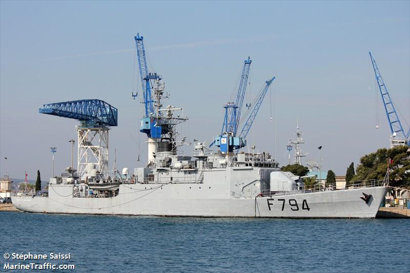 FRENCH WARSHIP F794