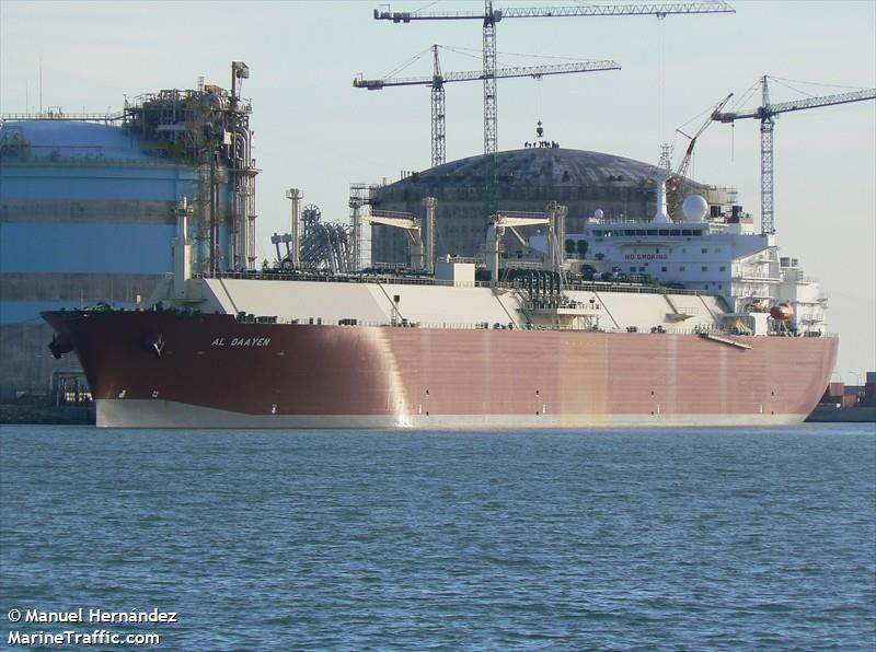 Vessel details for: AL DAAYEN (LNG Tanker) - IMO 9325702