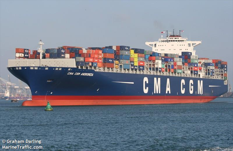 Vessel Details For Cma Cgm Andromeda Container Ship