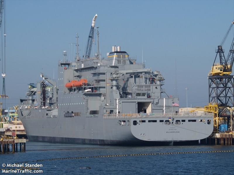 USNS WILLIAM MCLEAN