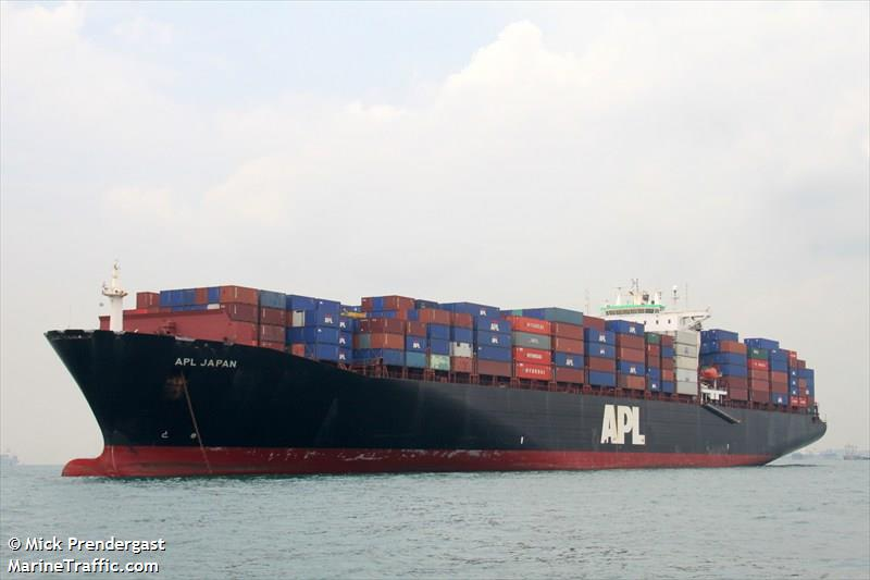 Vessel details for: APL JAPAN (Container Ship) - IMO 9074391