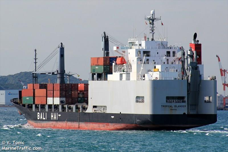 Vessel details for: TROPICAL ISLANDER (Ro-Ro/Container ...