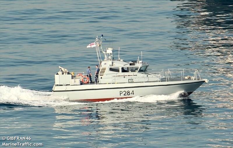 RN HMS SCIMITAR P284