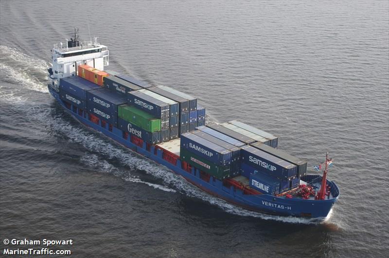 Vessel details for: RMS VERITAS (Cargo/Containership ...
