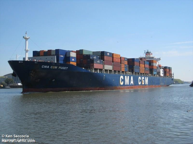 Picture of CMA CGM PUGET | AIS Marine Traffic
