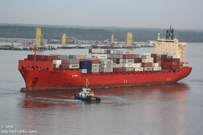 vessel details for meratus tomini container ship imo 9374583