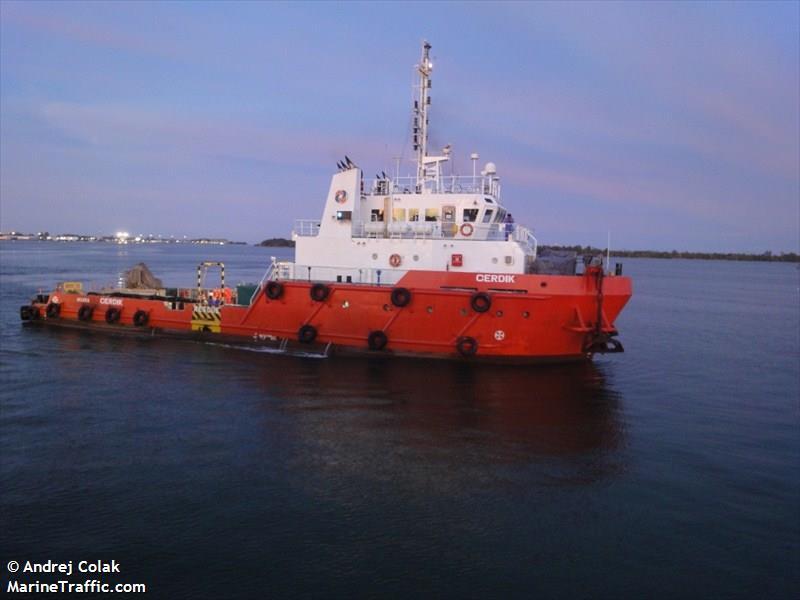 vessel details for cerdik utility vessel imo 9559171. Black Bedroom Furniture Sets. Home Design Ideas