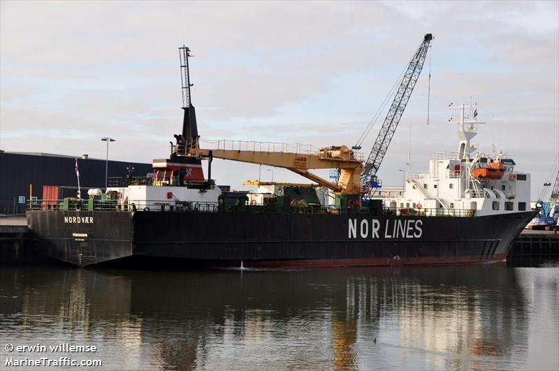 Nordvaer General Cargo Vessel Imo 5255818 Vessel