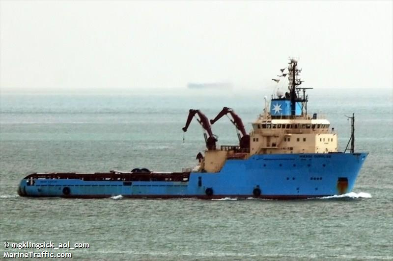 Picture of MAERSK SUPPLIER | AIS Marine Traffic