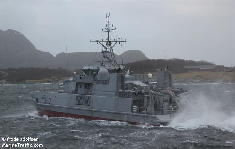 NATO WARSHIP M350