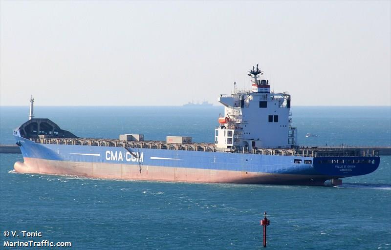 Picture of VILLE D?ORION | AIS Marine Traffic