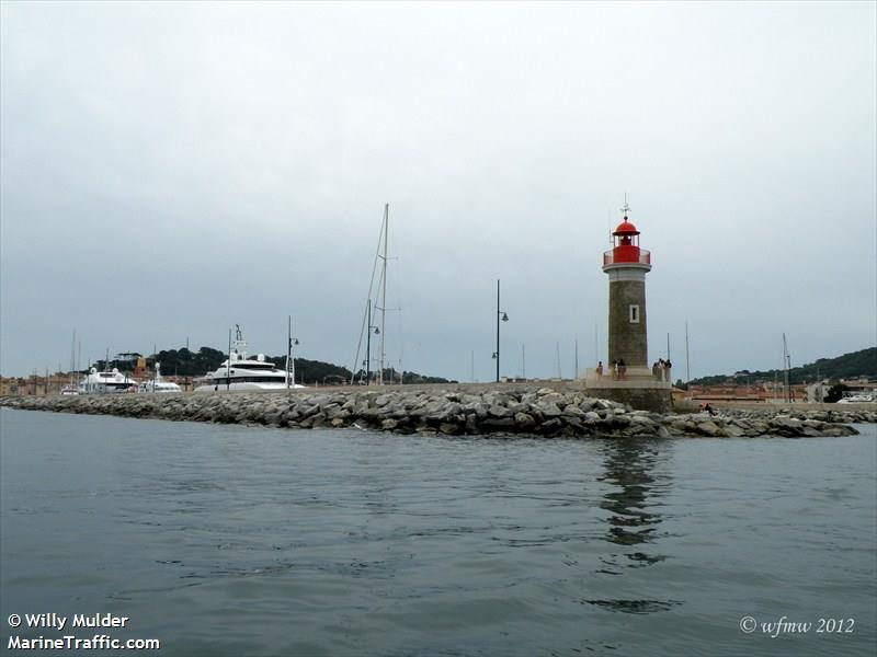light tower of St. Tropez