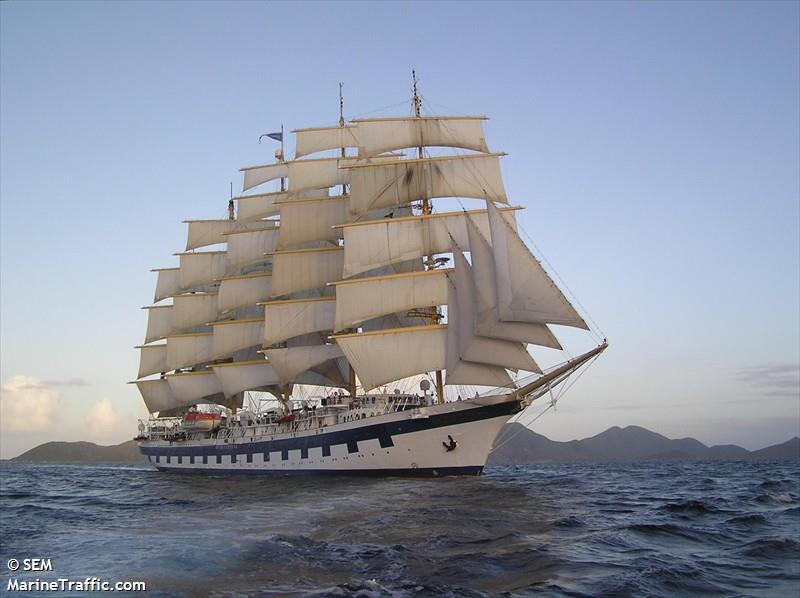 Vessel details for: ROYAL CLIPPER (Passenger Ship) - IMO ...