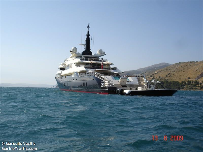 Vessel details for: ALFA NERO (Yacht) - IMO 1009376, MMSI ...