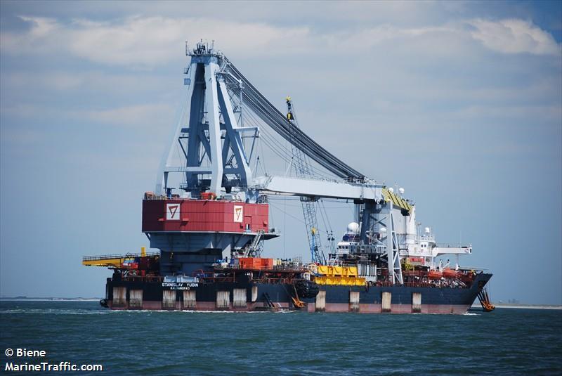 Vessel details for: STANISLAV YUDIN (Crane Ship) - IMO ...