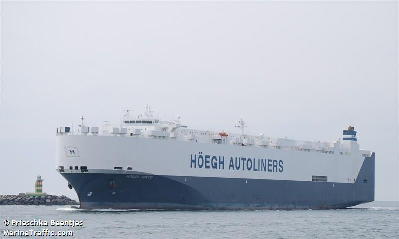 Vessel details for: HOEGH TOKYO (Vehicles Carrier) - IMO
