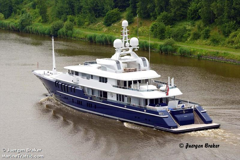 Vessel details for: TRIPLE SEVEN (Yacht) - IMO 9374894 ...