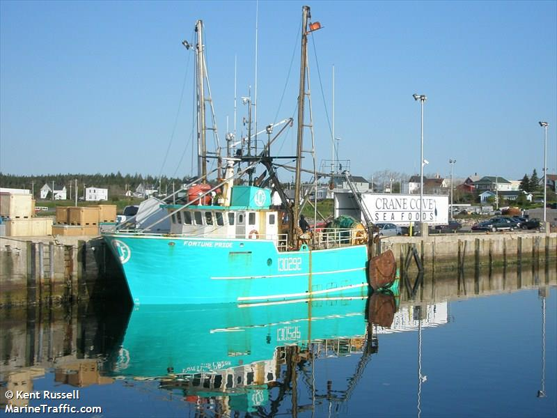 Vessel details for: FORTUNE PRIDE (Fishing Vessel) - IMO ...
