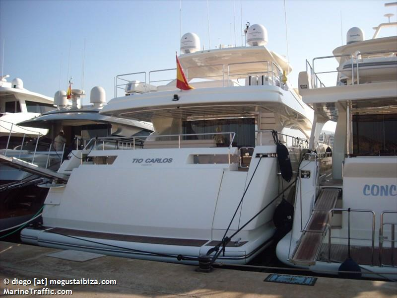 Vessel details for: TIO CARLOS CUARTO (Pleasure Craft) - MMSI ...