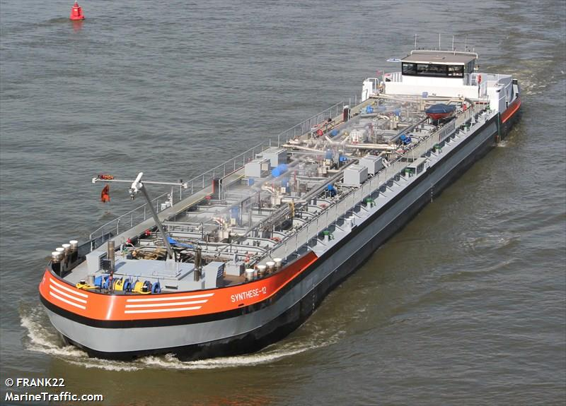 Vessel Details For Synthese 12 Inland Motor Tanker
