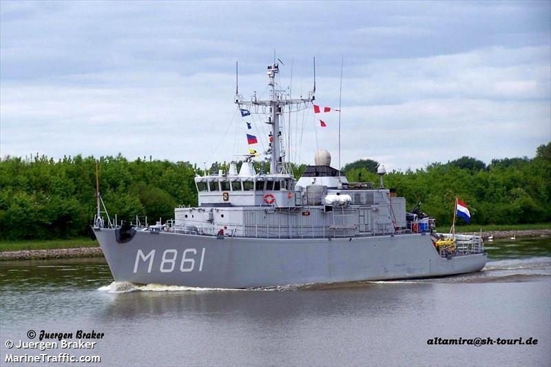 NATO WARSHIP M861