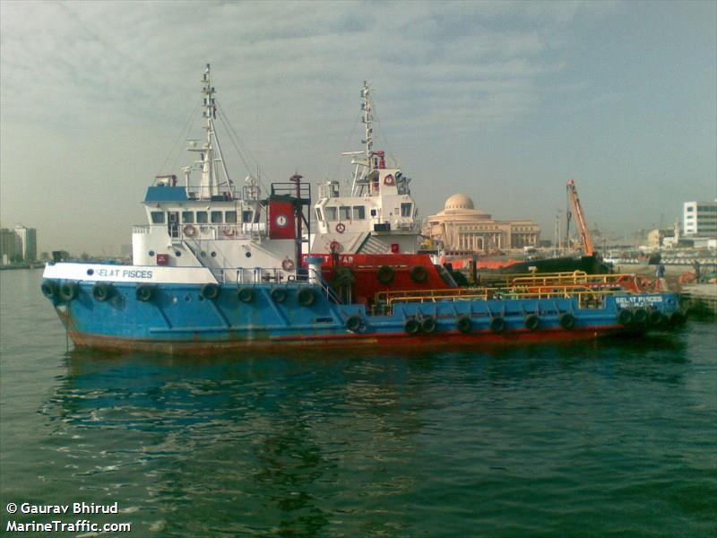 Vessel details for: SELAT PISCES (Offshore Supply Ship ...