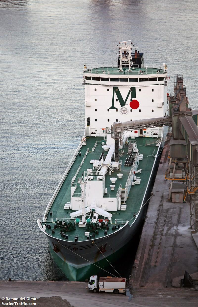 Vessel details for: CRISTINA MASAVEU (Cement Carrier) - IMO 9443762, MMSI 225424000, Call Sign ...
