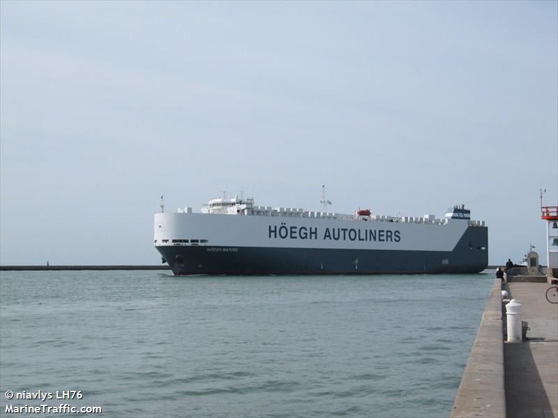 HOEGH MAPUTO, Car carrier, IMO 9431850 | Vessel details
